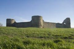 Castelo de Pevensey Fotos de Stock Royalty Free