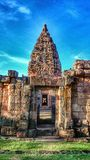 Castelo de PhanomRung Fotografia de Stock