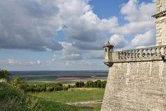 Castelo de Pidhirtsi em Ucrânia Fotografia de Stock Royalty Free