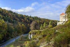 Castelo de Pieskowa Skala Fotografia de Stock Royalty Free