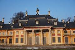 Castelo de Pillnitz em Dresden, Alemanha imagem de stock royalty free