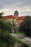 Castelo de Podebrady Imagem de Stock