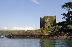 Castelo de Polruan imagens de stock