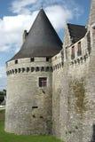 Castelo de Pontivy (Brittany - France) fotos de stock