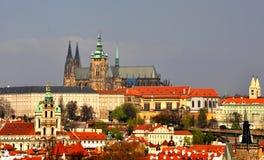 Castelo de Prag Fotografia de Stock Royalty Free