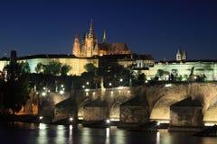 Castelo de Praga Fotos de Stock Royalty Free