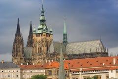 Castelo de Praga Imagens de Stock Royalty Free