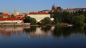 Castelo de Praga video estoque