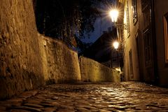 Castelo de Praga - mundo novo Imagem de Stock Royalty Free