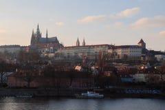 Castelo de Praga, república checa Imagens de Stock Royalty Free