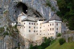 Castelo de Predjama Imagem de Stock