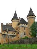 Castelo de Puymartin, Marquay (France) imagem de stock