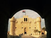 Castelo de Qaitbey Foto de Stock Royalty Free