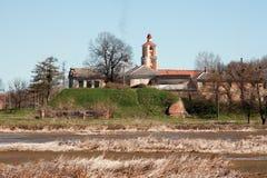 Castelo de Radziwill Fotos de Stock Royalty Free