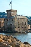 Castelo de Rapallo Imagem de Stock