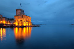 Castelo de Rapallo, Italy (Liguria) Fotos de Stock
