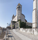 Castelo de Rapperswil Fotos de Stock Royalty Free