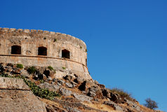 Castelo de Retimno em Crete Imagens de Stock Royalty Free