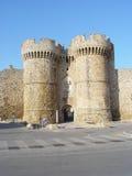 Castelo de Rhodos imagem de stock royalty free