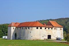 Castelo de Ribnik, Croácia Fotografia de Stock Royalty Free