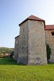 Castelo de Ribnik, Croácia Imagem de Stock Royalty Free