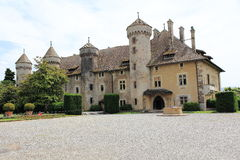 Castelo de Ripaille imagem de stock