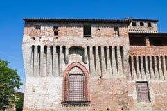 Castelo de Roccabianca. Emilia-Romagna. Itália. Imagens de Stock Royalty Free