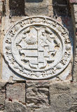 Castelo de Roccabianca. Emilia-Romagna. Itália. Fotografia de Stock Royalty Free