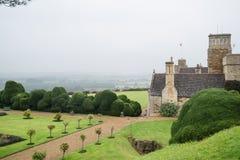 Castelo de Rockingham foto de stock royalty free