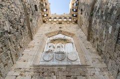 Castelo de Rodos Fotografia de Stock
