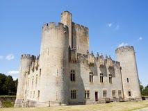 Castelo de Roquetaillade Fotografia de Stock Royalty Free