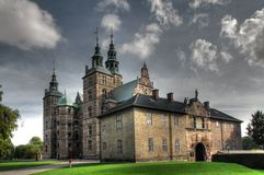 Castelo de Rosenborg Foto de Stock Royalty Free