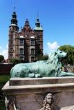 Castelo de Rosenborg em Copenhaga, Dinamarca Imagem de Stock Royalty Free