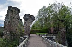 Castelo de Roslin uma fortaleza do século XIV Imagens de Stock