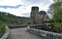 Castelo de Roslin uma fortaleza do século XIV Imagem de Stock