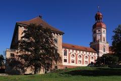 Castelo de Roudnice nad Labem Imagens de Stock Royalty Free