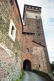 Castelo de Rovasenda (Vercelli, Italy) Imagem de Stock