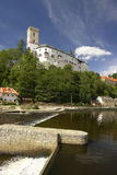 Castelo de Rozmberk Foto de Stock
