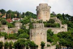 Castelo de Rumeli foto de stock royalty free