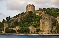 Castelo de Rumelian Foto de Stock Royalty Free