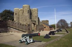 Castelo de Rye Fotografia de Stock Royalty Free
