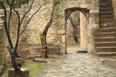 Castelo de São Jorge Immagini Stock