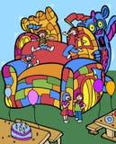 Castelo de salto do dragão Imagem de Stock