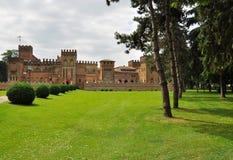 Castelo de San Lorenzo, dei Picenardi de Torre, Italy fotos de stock