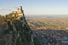 Castelo de San Marino Fotos de Stock