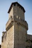 Castelo de San Marino Fotografia de Stock Royalty Free