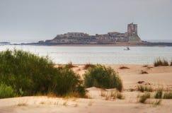 Castelo de Sancti Petri Fotos de Stock