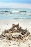 Castelo de Sandy Imagem de Stock