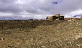Castelo de Santa Barbara - Castillo de Guanapay Imagem de Stock