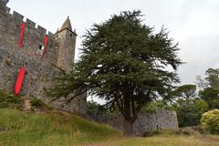 Castelo de Santa Maria a Dinamarca Feira imagem de stock royalty free